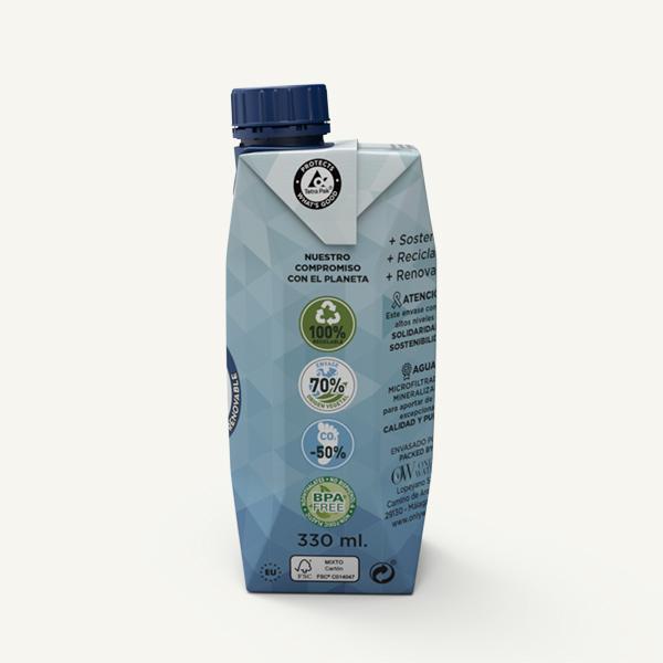 Only Water - Agua en carton