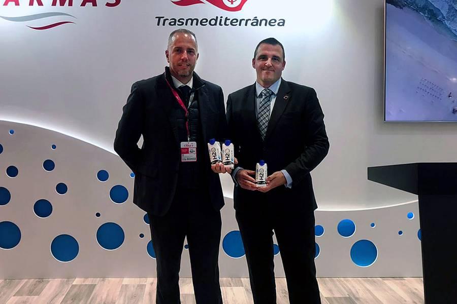Acuerdo entre Only Water y Grupo Naviera Armas-Trasmediterránea